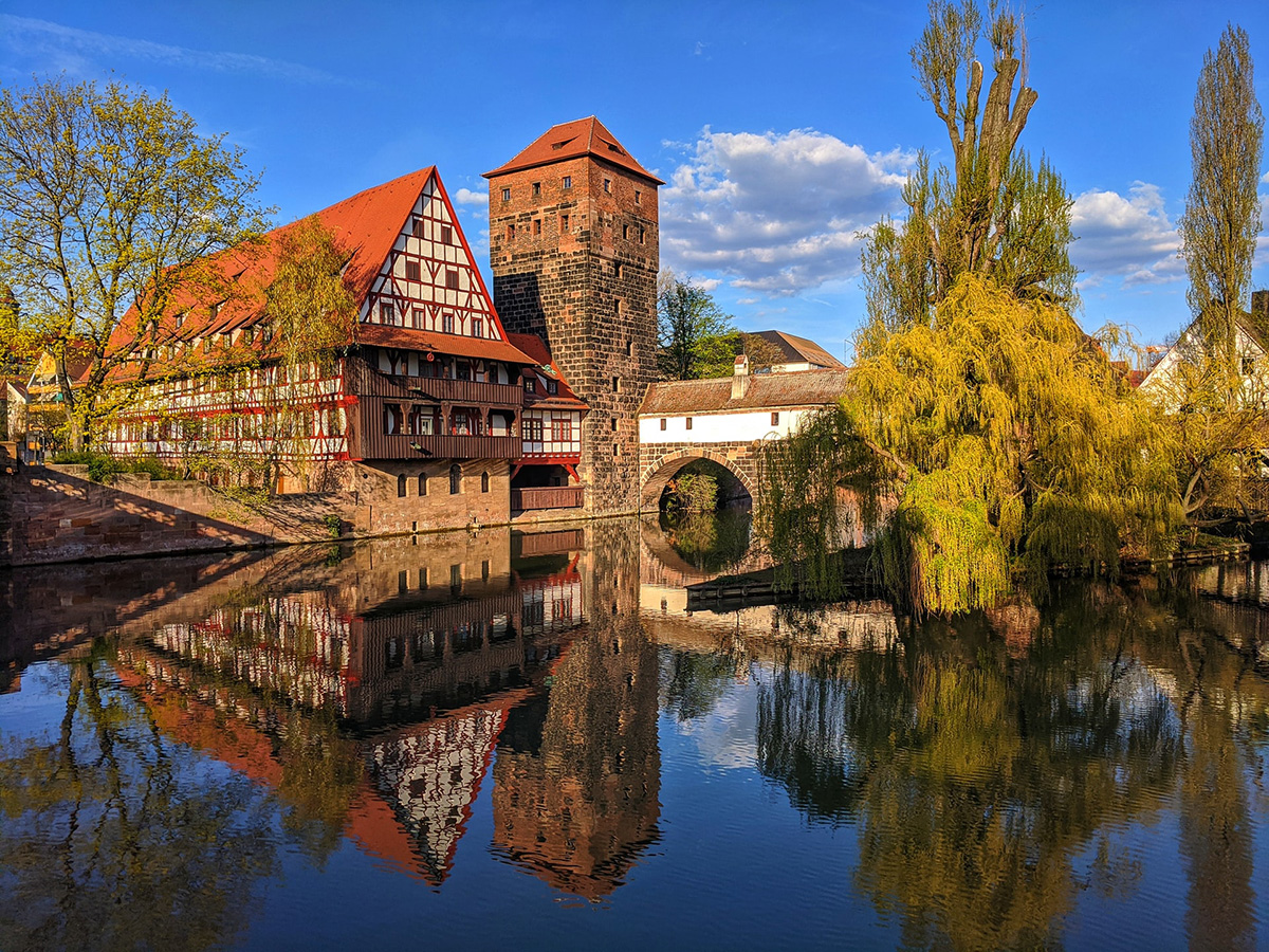 Nuremberg on the Pegnitz