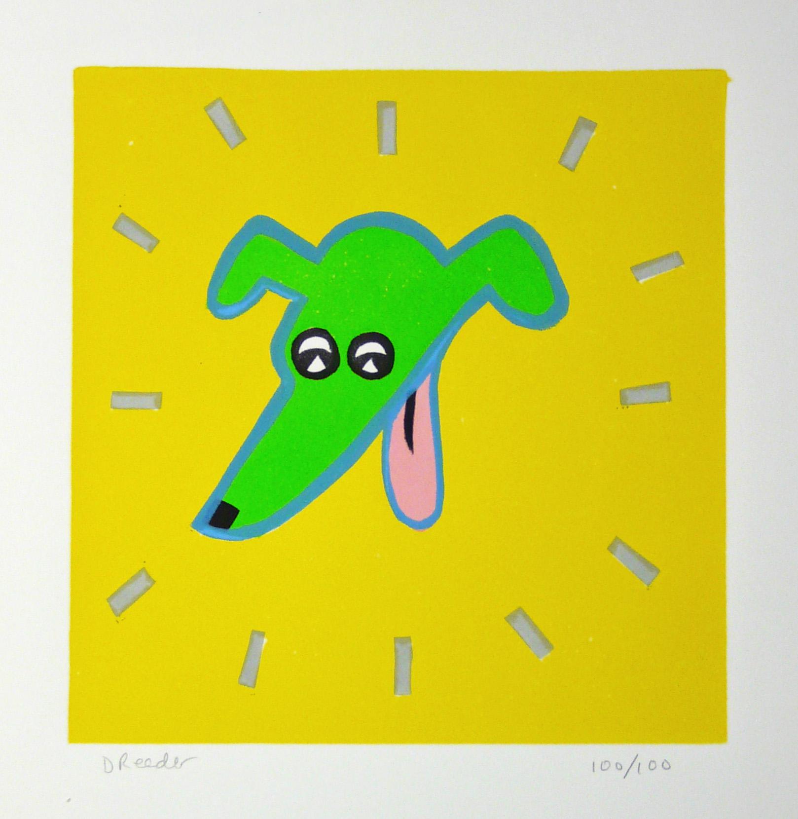 Happy Dog by Dan Reeder