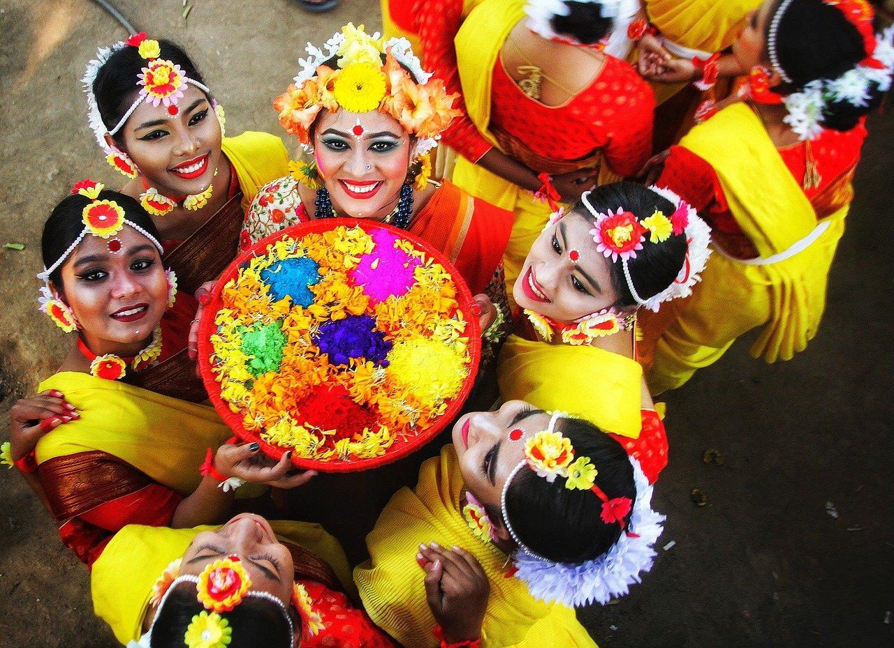 Pohela Falgun Women