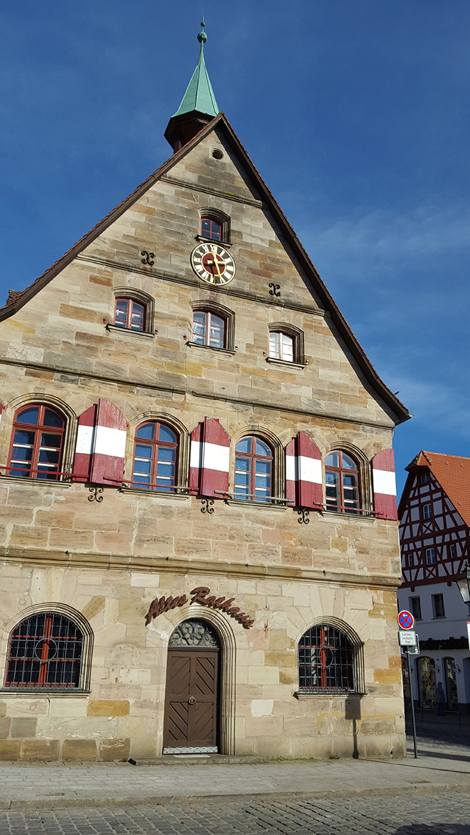 The Old Town Hall in Lauf an der Pegnitz