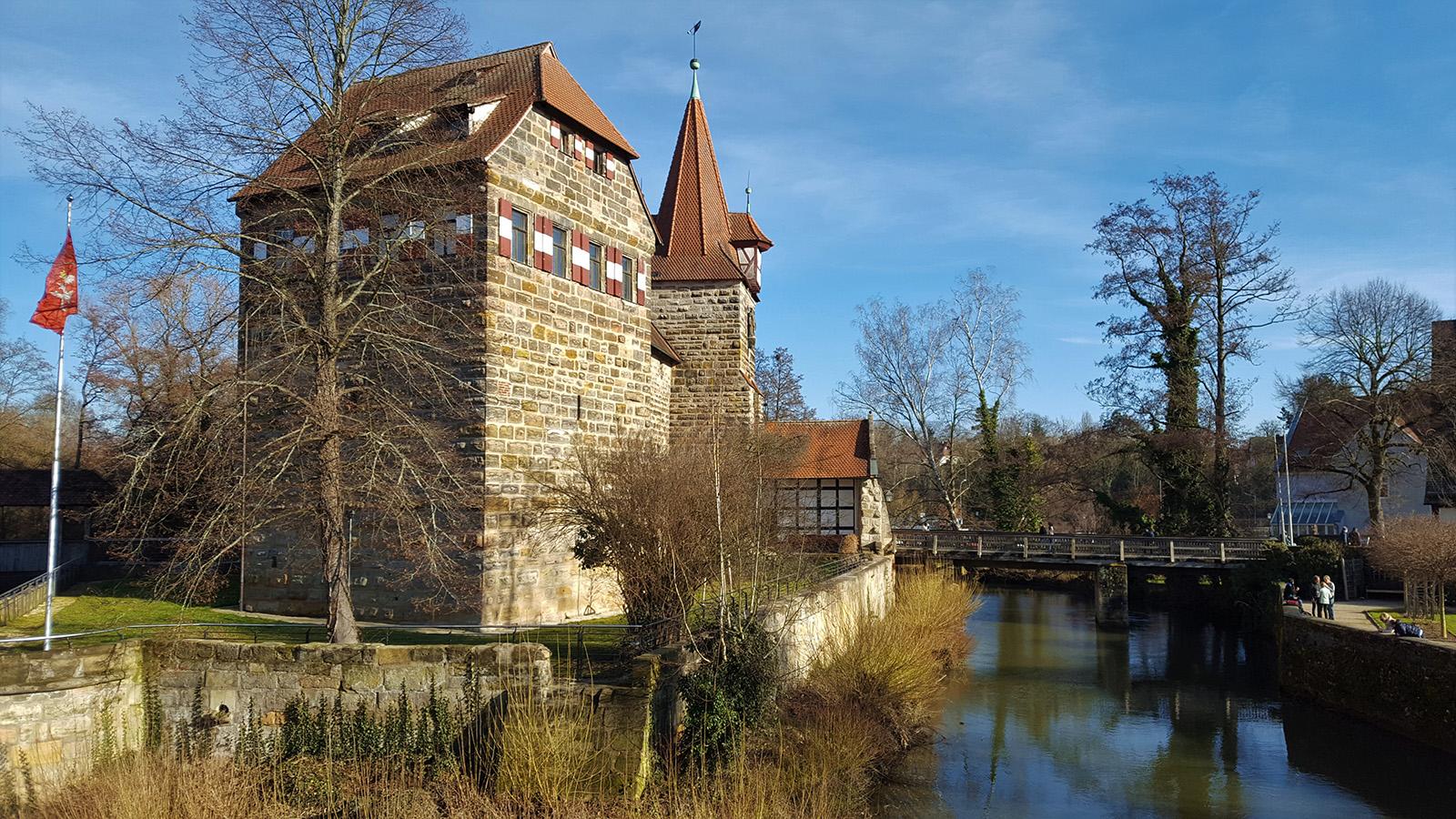 The Kaiserberg in Lauf an der Pegnitz