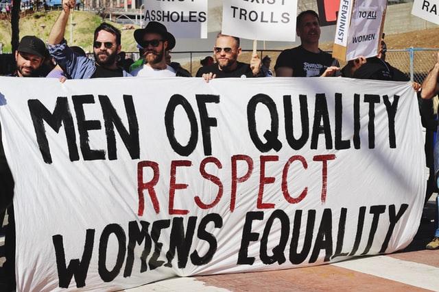 Men supporting Feminism