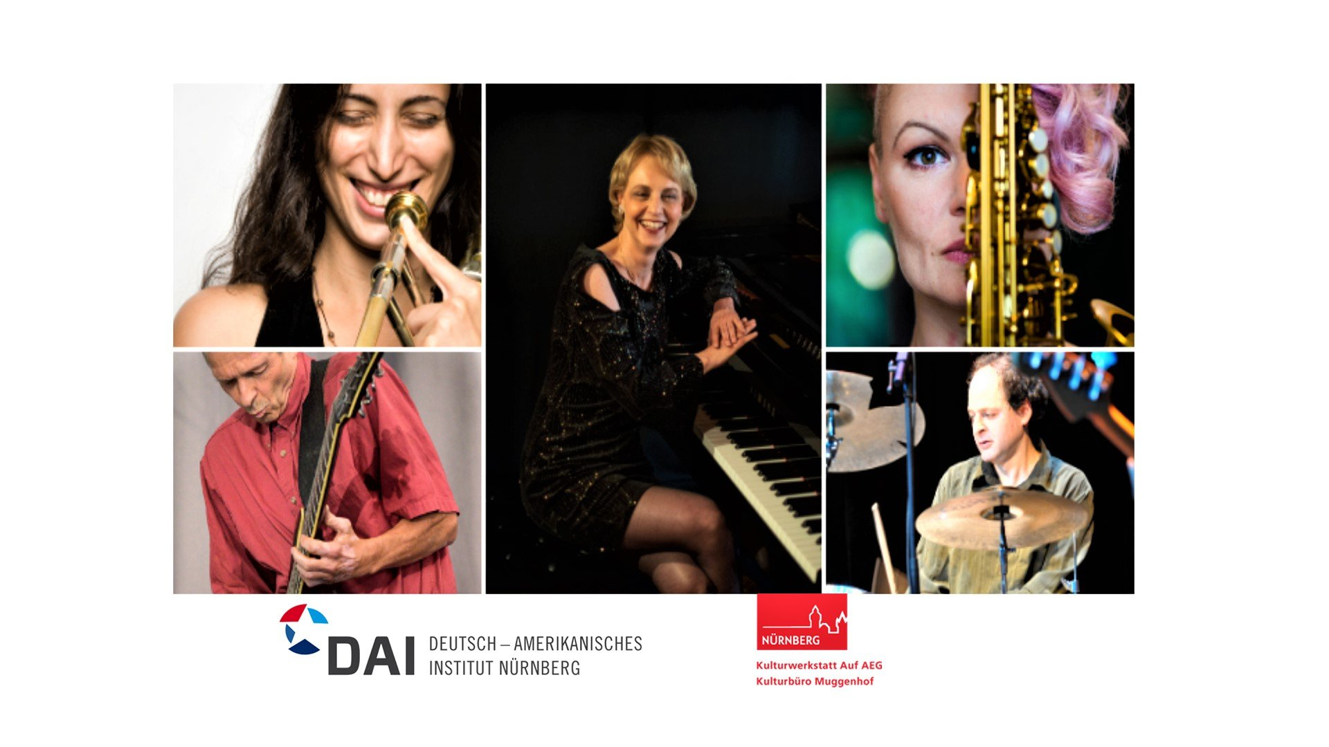 Jazz concert FEAT. Monika Herzig, Reut Regev, Jasna Jovicevic & Friends