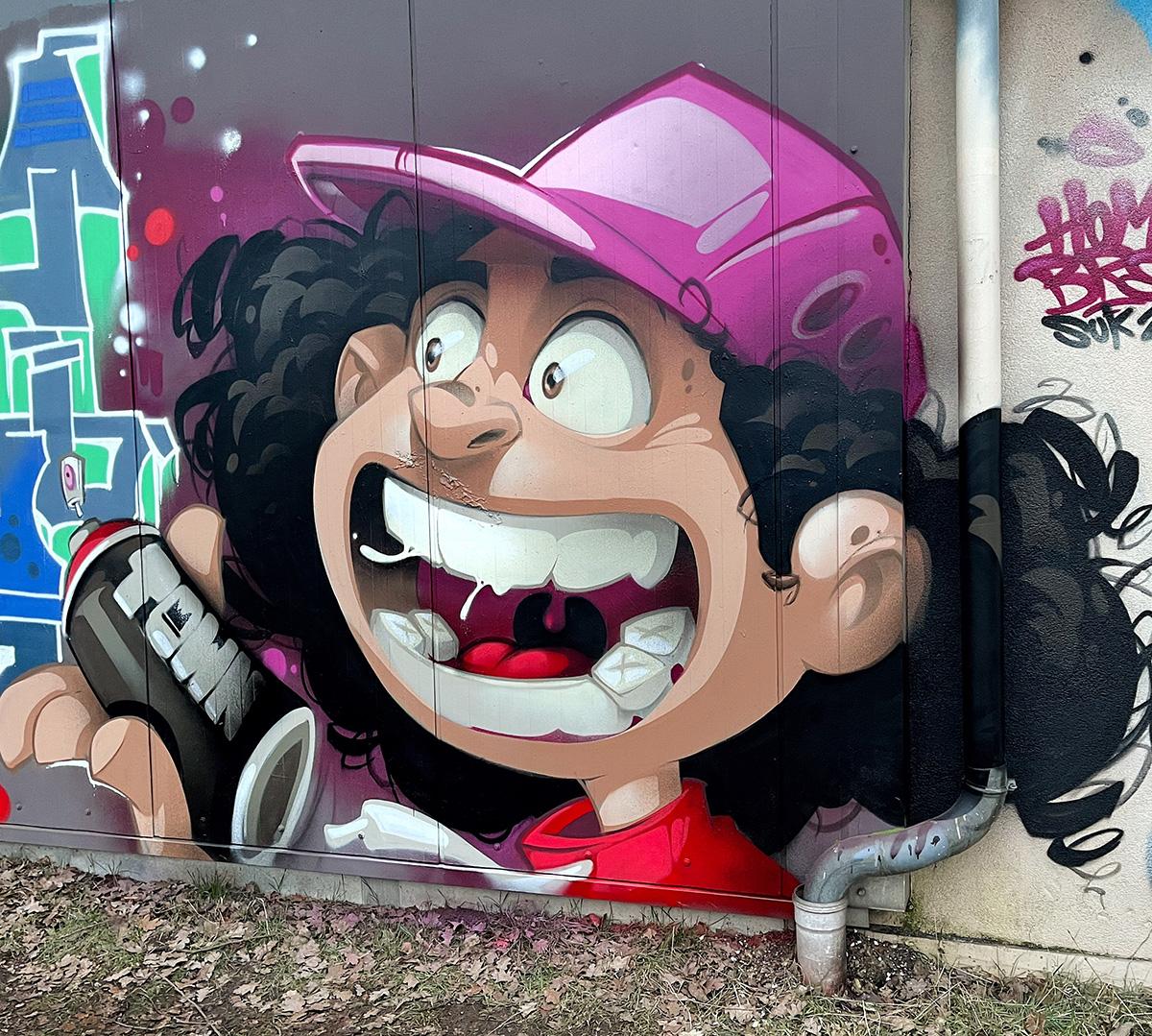 Graffiti by Hombre SUK