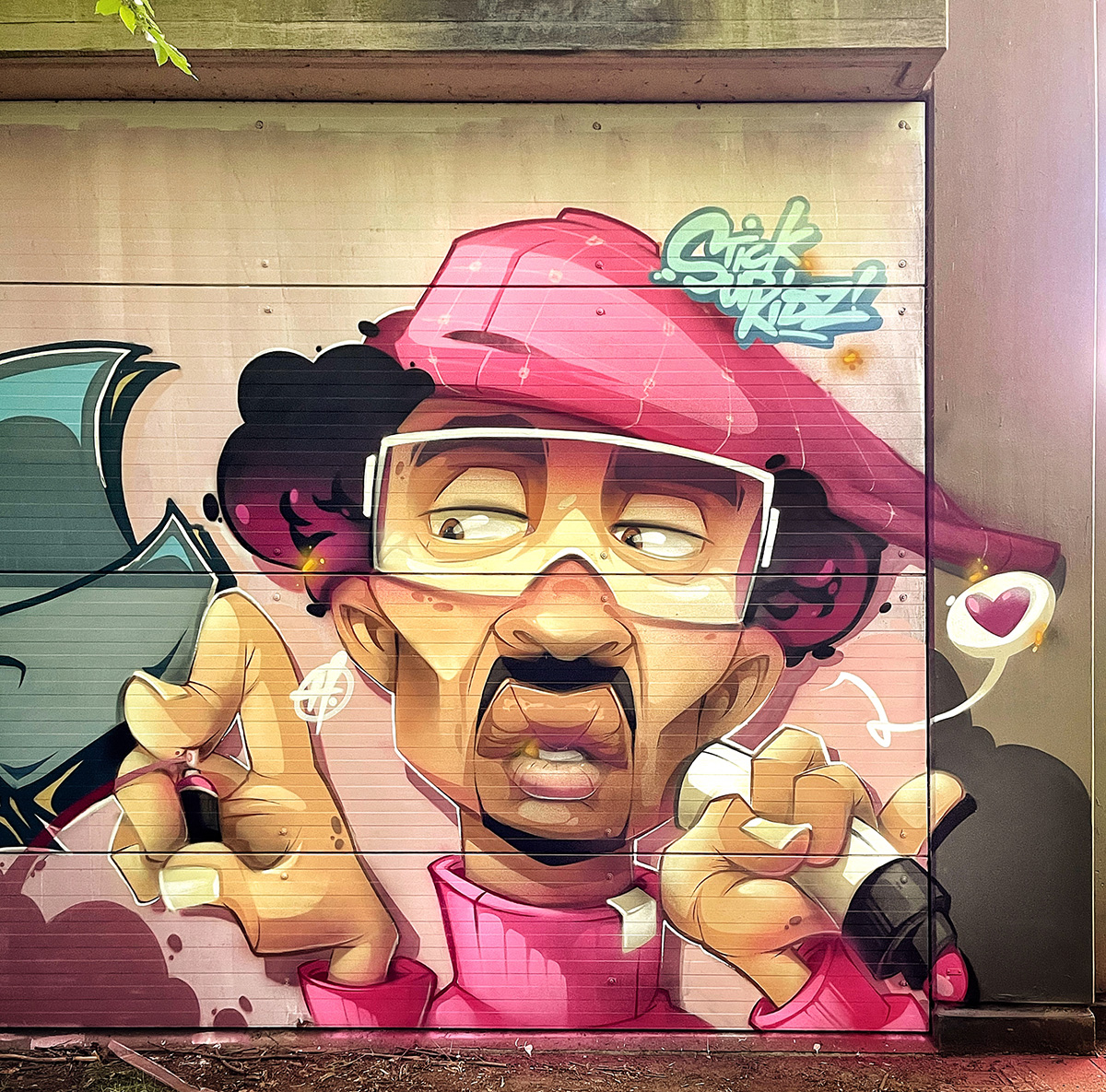 B-Boy in Pink by Hombre SUK