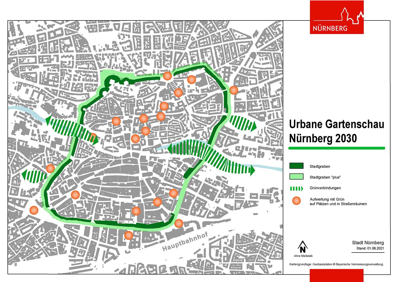 Urbane Gartenschau Nürnberg 2030