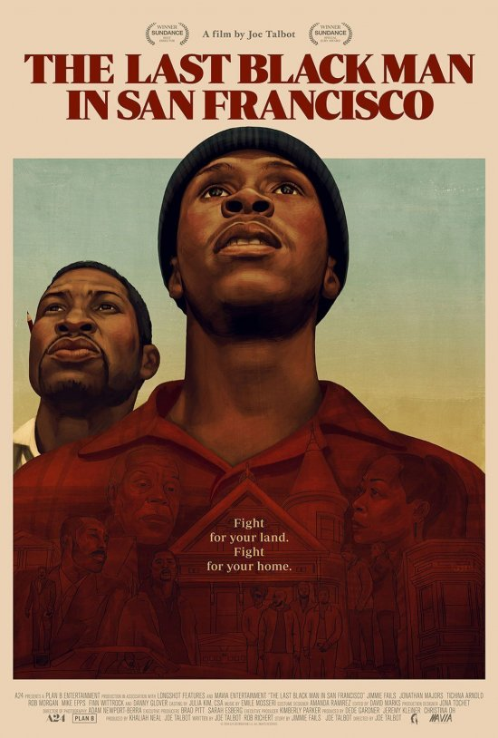 Film Poster from THE LAST BLACK MAN IN SAN FRANCISCO