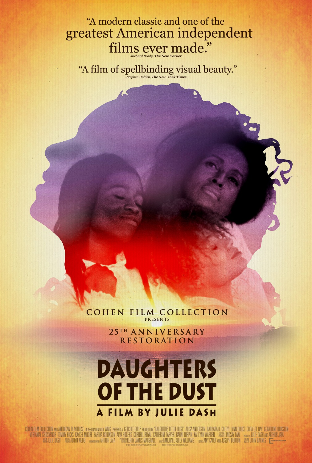 Poster for the film Daughters of the Dust